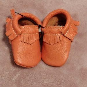 Orange soft sole